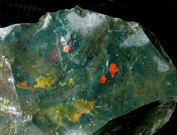 bloodstone mineral